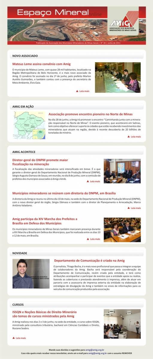 Informativo  - Junho 2011