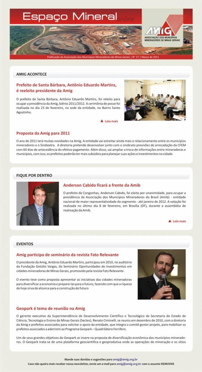 Informativo - Março 2011