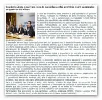 Granbel e Amig encarram ciclo de encontros entre prefeitos e pré-canditados ao governo de Minas