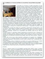 Pré-candidatos ao Governo de Minas se encontram com prefeitos da grande BH